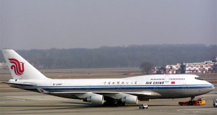 Air China would operate their flight via a code sharing deal with South African Airways