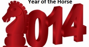 2014 the year of the horse in the Chinese Zodiac