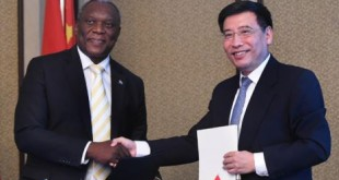 MINISTRY SIGNS PACT WITH CHINA ON CYBER SECURITY