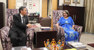 Consul General Kang Yong Met with the Executive Mayor of Cape Town