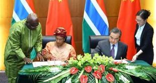 China-Gambia