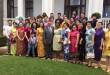 全非洲华人妇女联合总会应邀与南非总统祖玛及总统夫人邦吉·祖马举行座谈会。