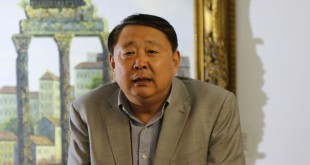 Vice Mayer of Jin Nan City Sun Xiaogang