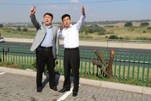 孙晓刚副市长与范青会长