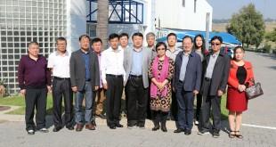 济南市副市长孙晓刚参观南非山东产品展销中心