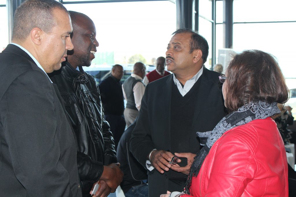Ekurhuleni Captains of Industry Forum members networking