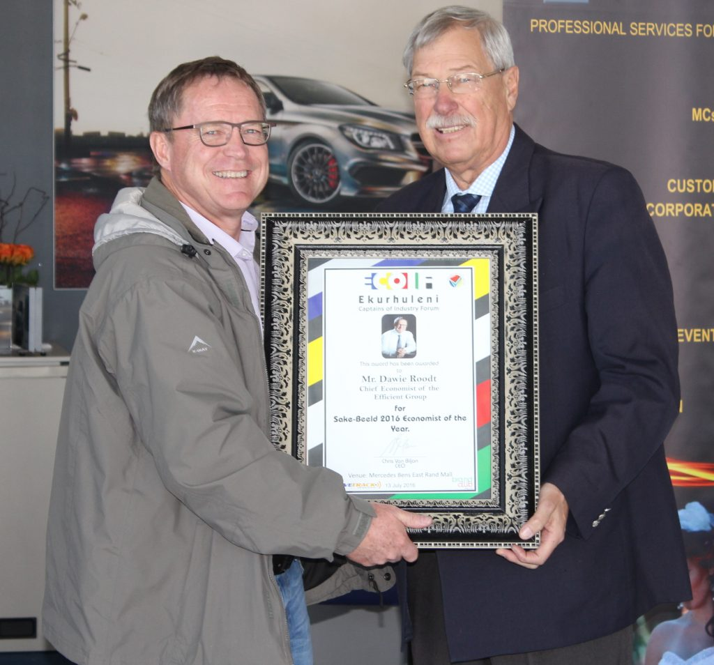 Dawie Roodt and Mr Chris van Biljon