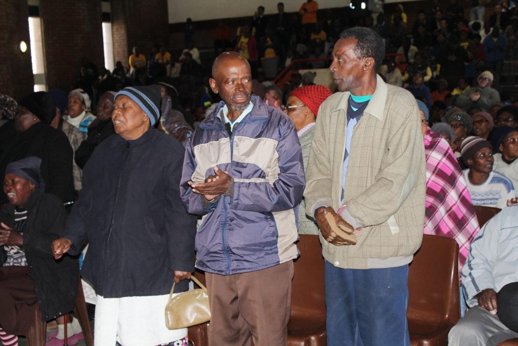 Metsimaholo community members.