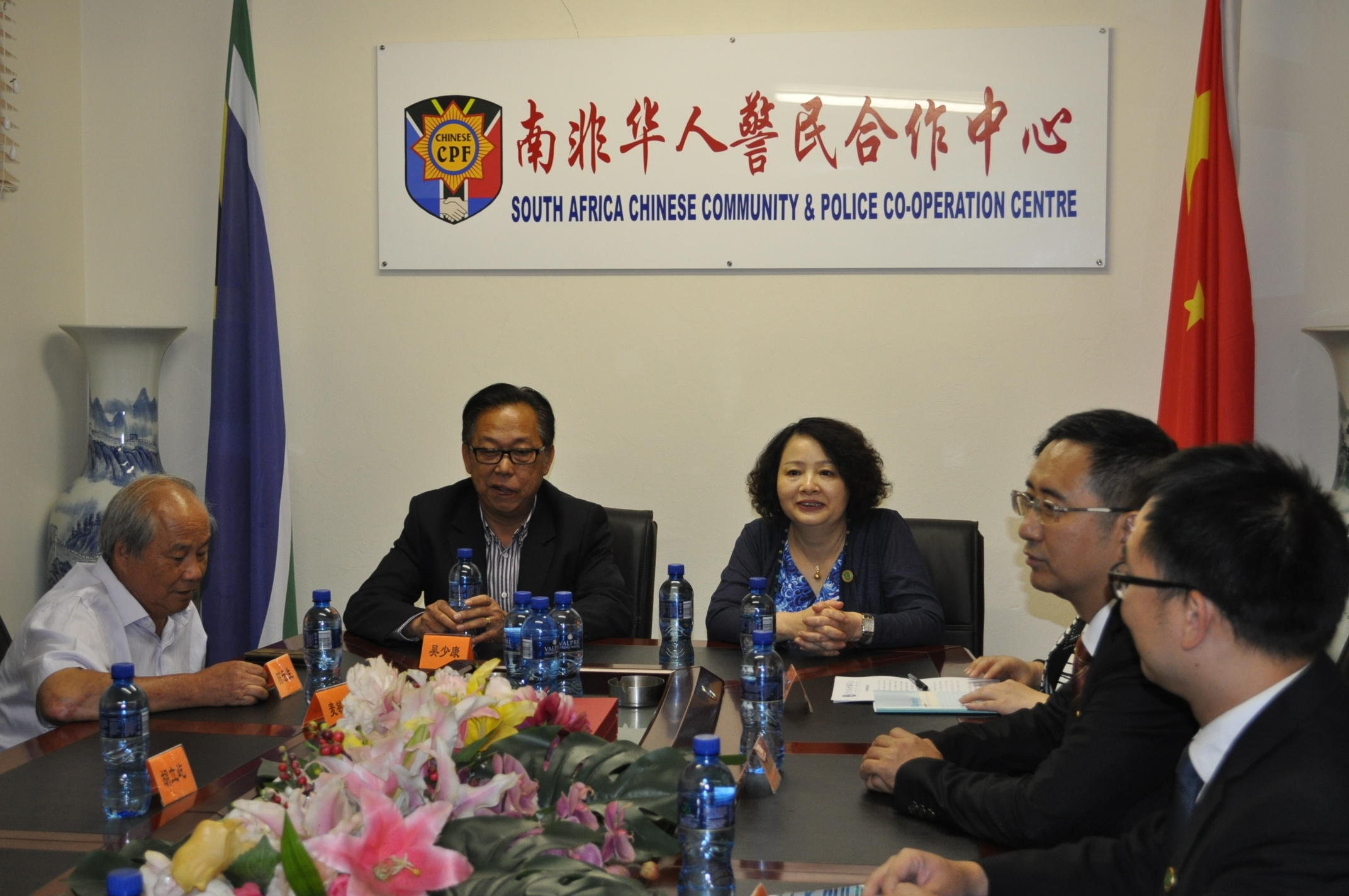 Huanchun Li, Vice President of Guangdong Overseas Friendship Association paid a courtesy visit to the Chinese CPF.