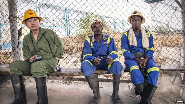 China South Africa economy