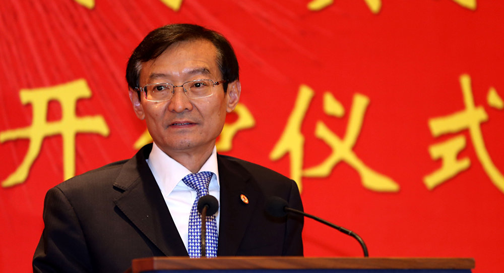 Zhang Ming, China's vice-foreign minister.
