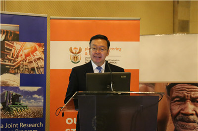 Chinese Ambassador to South Africa Tian Xuejun.