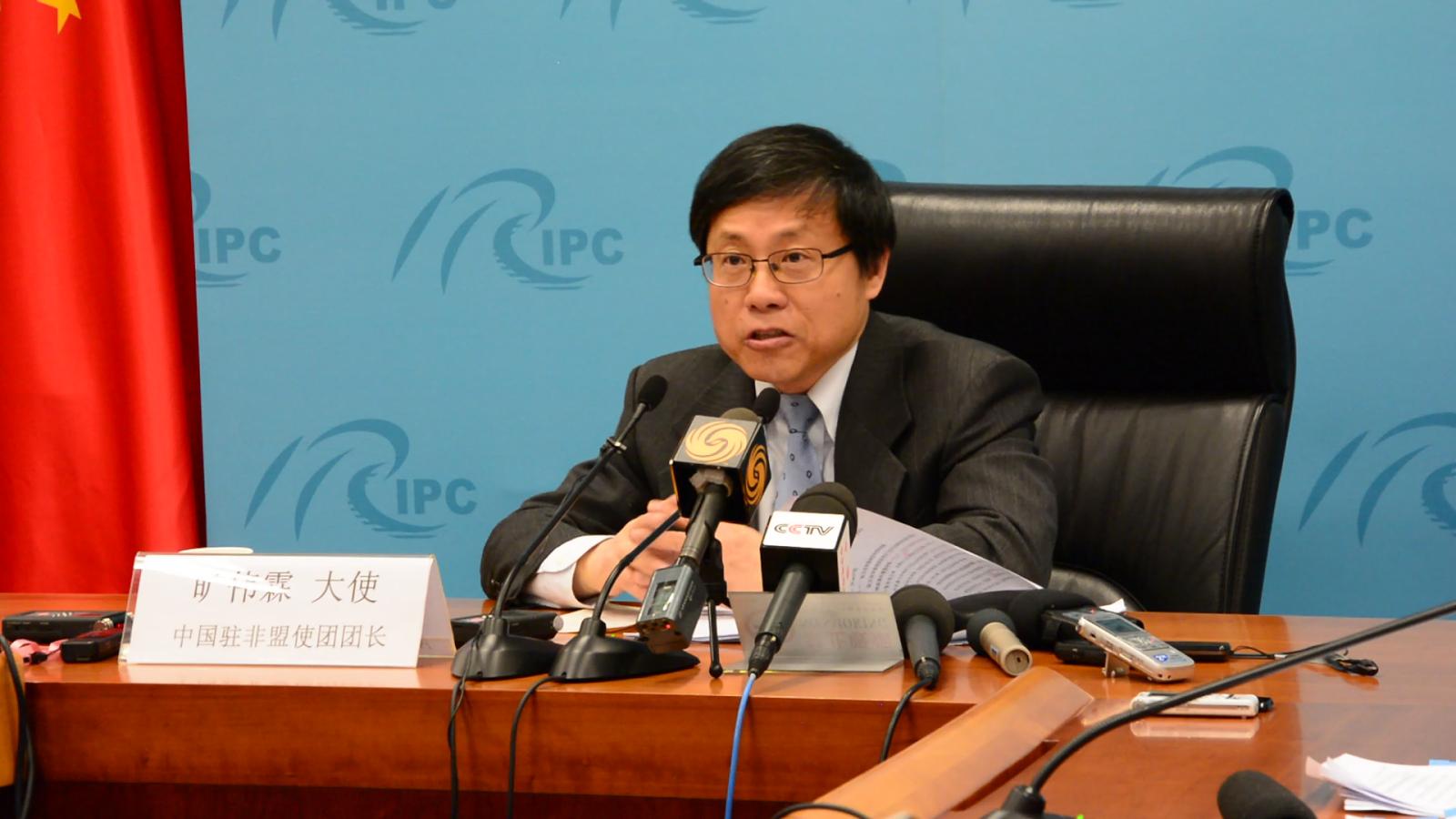 Ambassador Kuang Weilin.