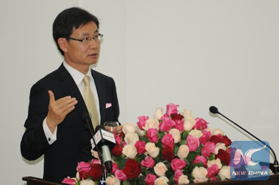 La Yifan, Chinese Ambassador to Ethiopia.