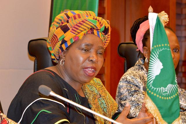 Dr Nkosazana Dlamini Zuma.