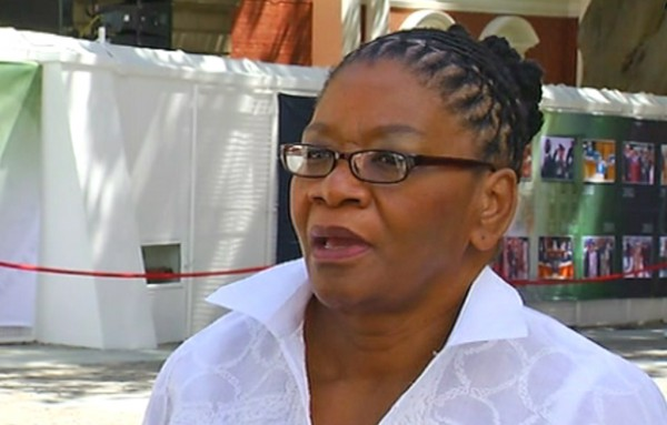 National Council of Provinces Chairperson, Thandi Modise.