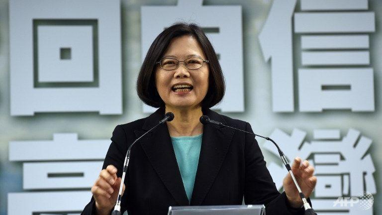 Taiwan leader Tsai Ing-wen.