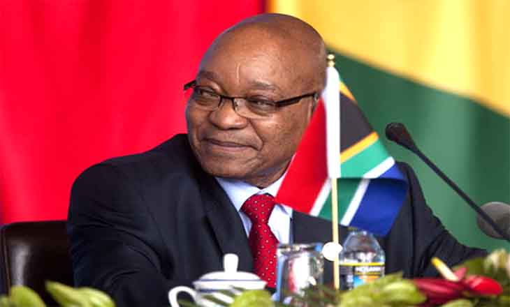 South Africa's President Jacob Zuma.
