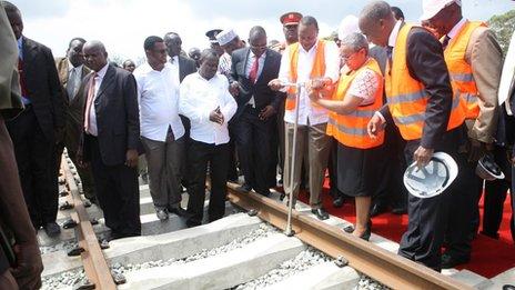Kenyan President Uhuru Kenyatta.
