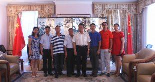 驻德班总领事王建州会见领区华文教育工作者