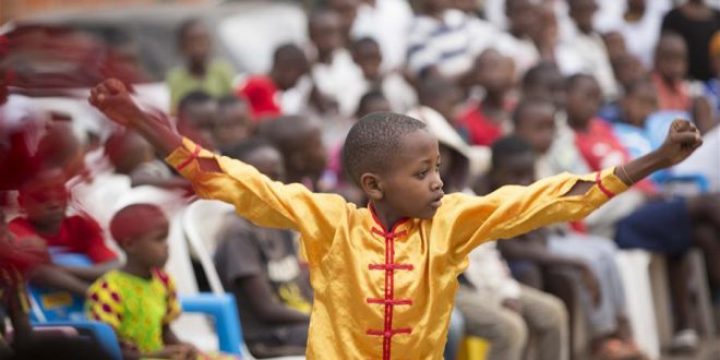RWANDAN COMMUNITY PLAYS HOST TO CHINESE MARTIAL ARTS