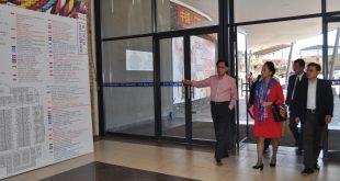 云南省政府代表团访问南非中南展贸中心及华人警民合作中心