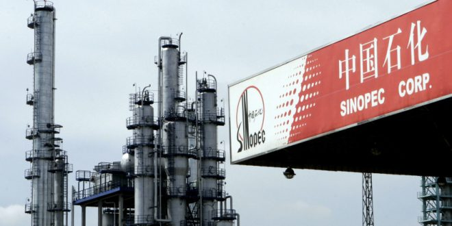 CHEVRON SA WILL BE BOUGHT BY CHINA'S SINOPEC