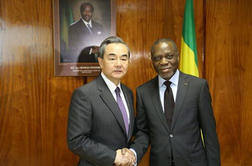 CHINESE ENVOY CONSULTING ON NEW DIMENSIONS TO CHINA-AFRICA COOPERATION